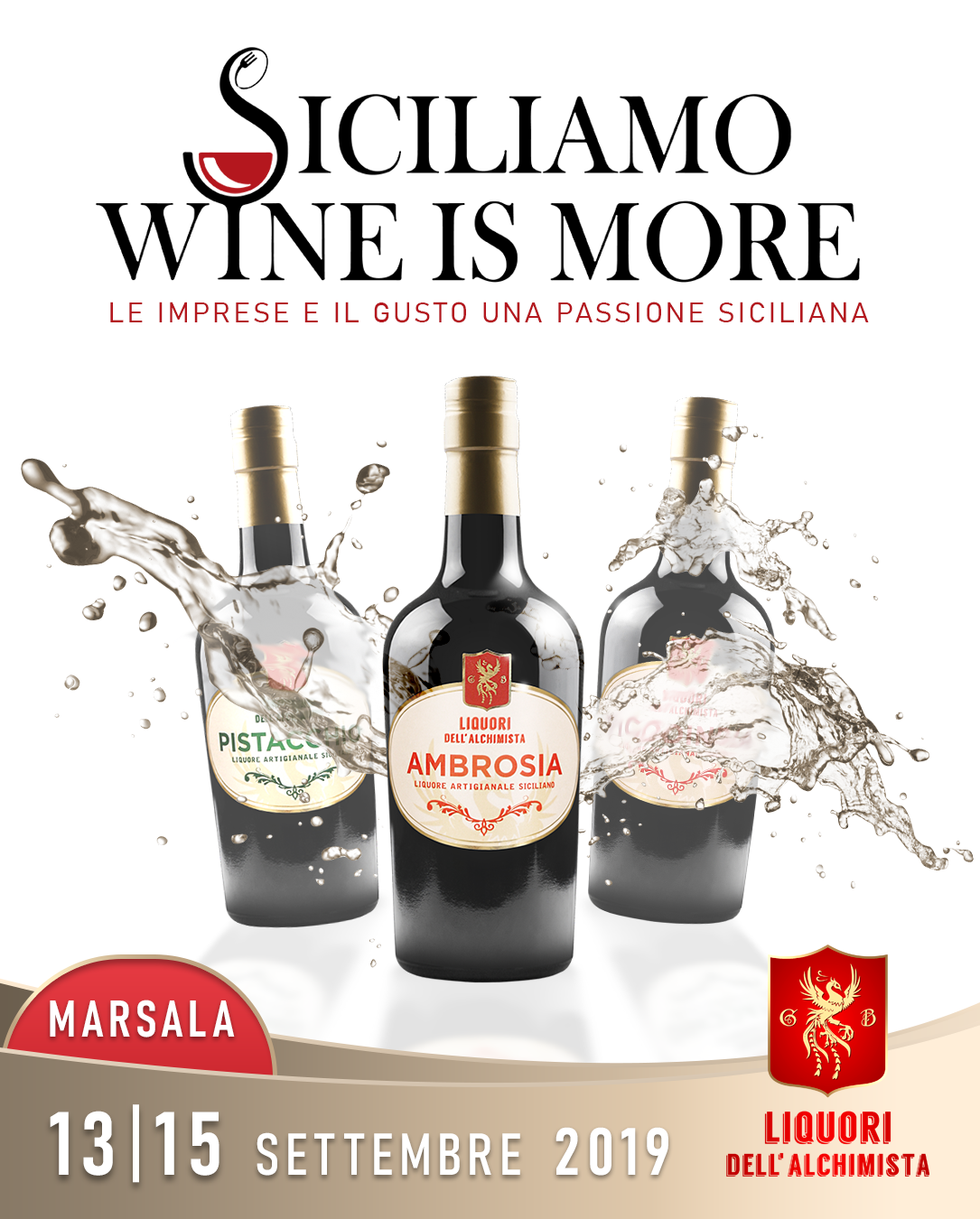 SICILIAMO WINE IS MORE
